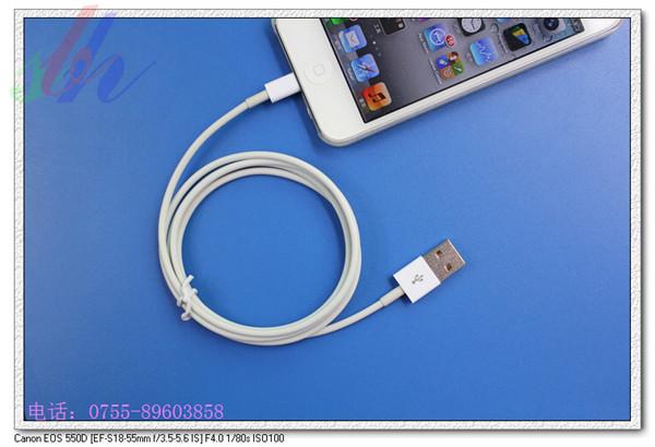 iphone5原装数据线 苹果5数据线