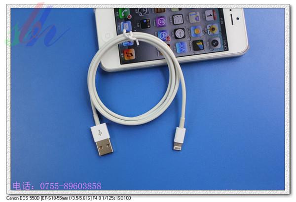 > 苹果5数据线